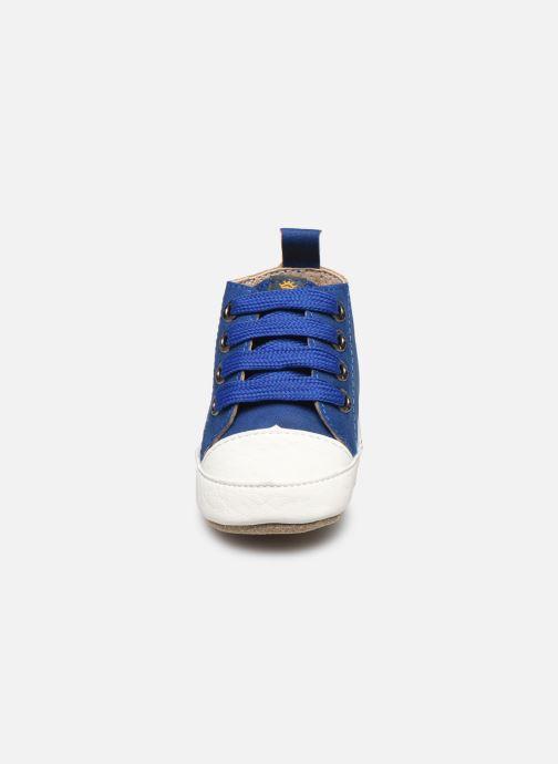 Chaussons Shoesme Johan Bleu vue portées chaussures