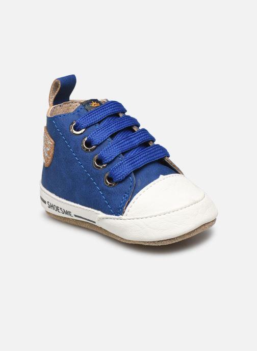 Pantuflas Shoesme Johan Azul vista de detalle / par
