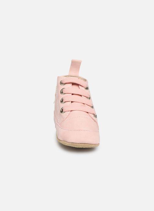 Chaussons Shoesme Jale Rose vue portées chaussures