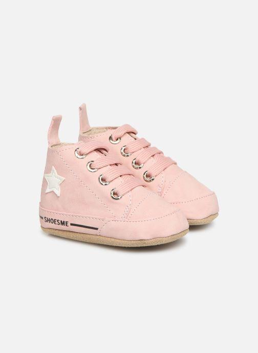Hjemmesko Shoesme Jale Pink detaljeret billede af skoene