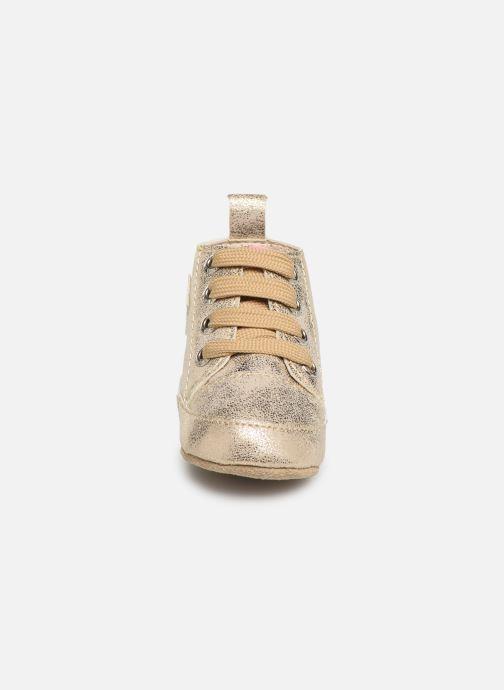 Chaussons Shoesme Jale Or et bronze vue portées chaussures