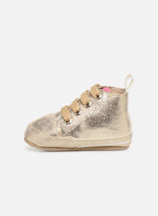 Chaussons Shoesme Jale Or et bronze vue face