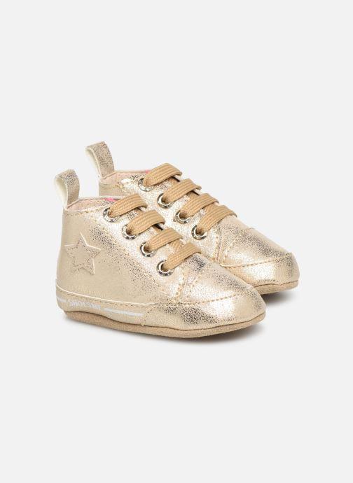 Chaussons Shoesme Jale Or et bronze vue détail/paire