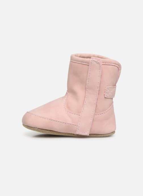 Chaussons Shoesme Jur warm Rose vue face
