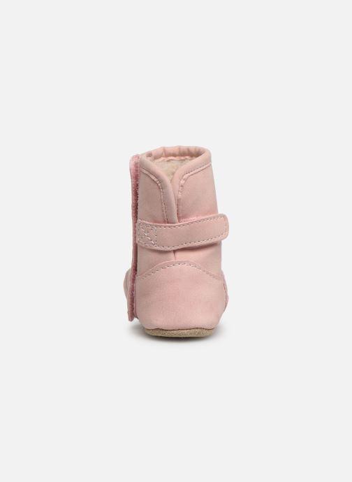 Pantoffels Shoesme Jur warm Roze rechts