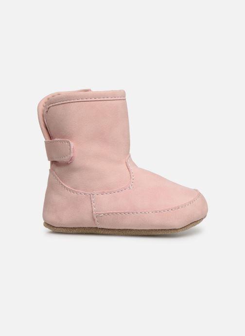 Pantoffels Shoesme Jur warm Roze achterkant