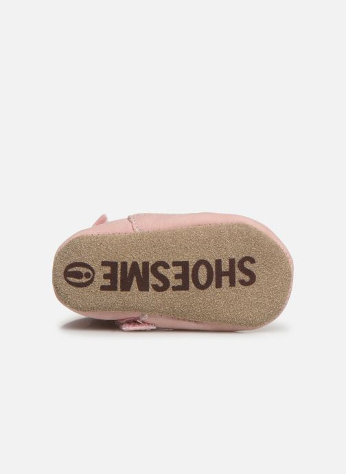 Pantoffels Shoesme Jur warm Roze boven