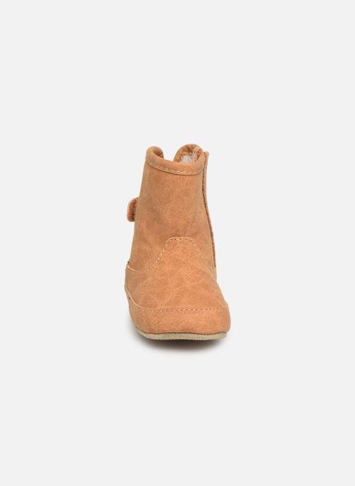 Chaussons Shoesme Jur warm Marron vue portées chaussures