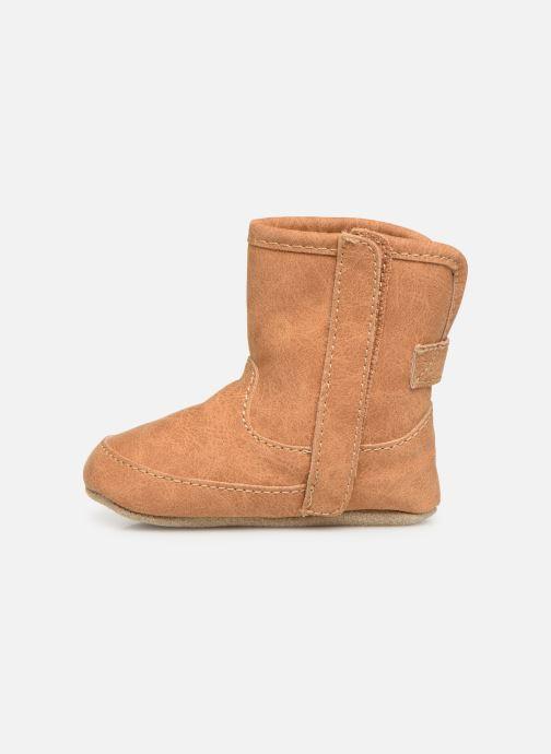 Pantoffels Shoesme Jur warm Bruin voorkant