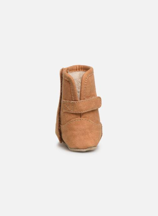 Pantoffels Shoesme Jur warm Bruin rechts
