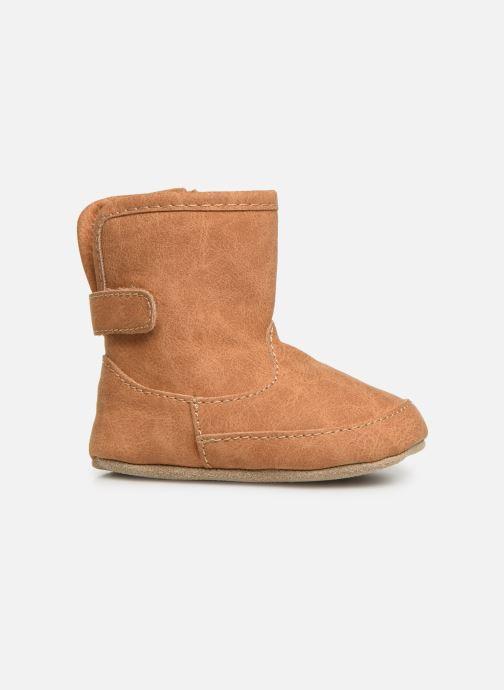 Pantoffels Shoesme Jur warm Bruin achterkant