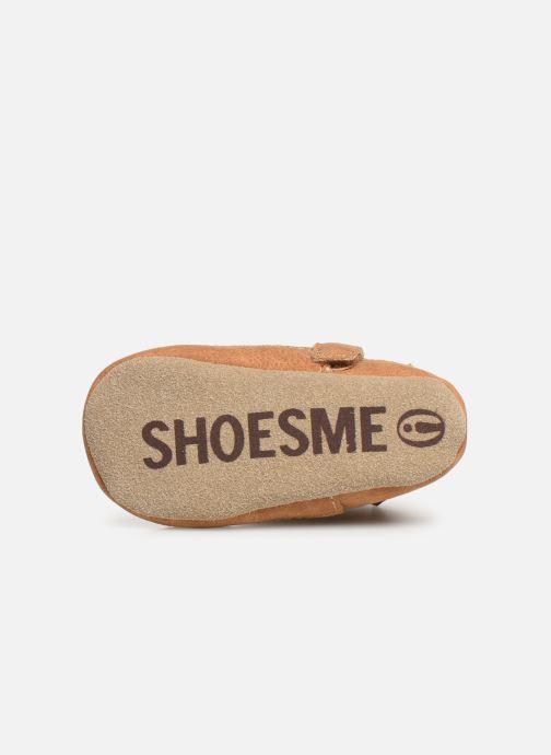 Pantoffels Shoesme Jur warm Bruin boven