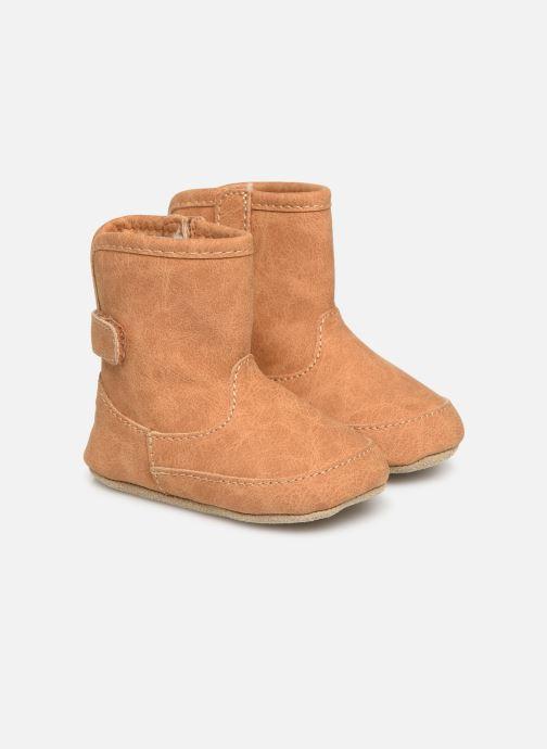 Pantoffels Shoesme Jur warm Bruin detail
