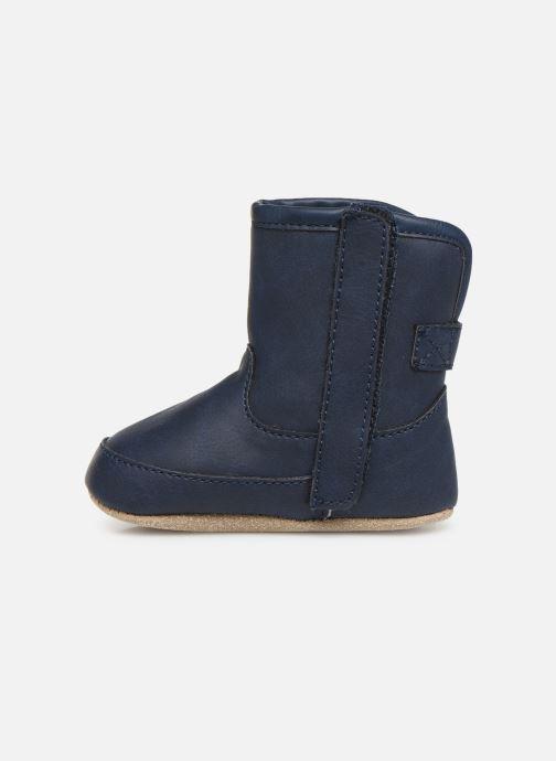 Pantuflas Shoesme Jur warm Azul vista de frente