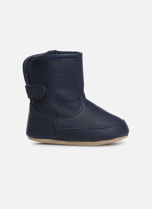 Chaussons Shoesme Jur warm Bleu vue derrière