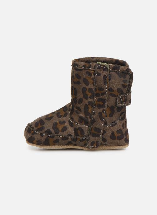 Pantoffels Shoesme Jur warm Grijs voorkant