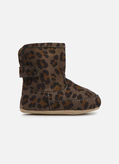 Pantoffels Shoesme Jur warm Grijs achterkant