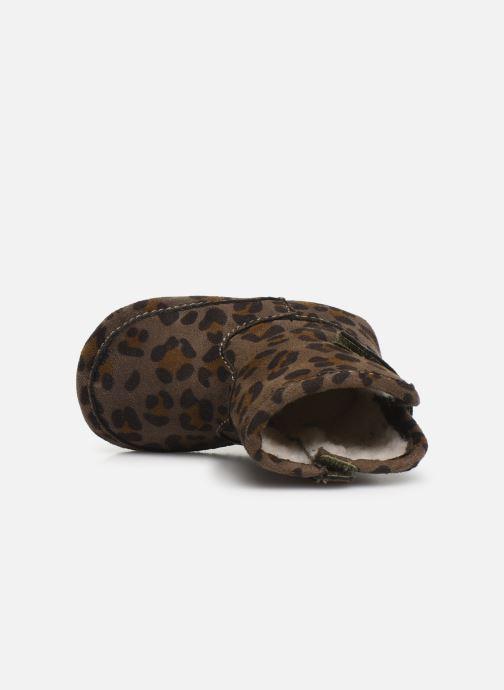 Pantoffels Shoesme Jur warm Grijs links