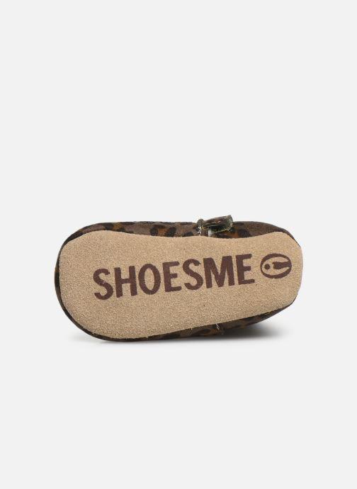 Chaussons Shoesme Jur warm Gris vue haut