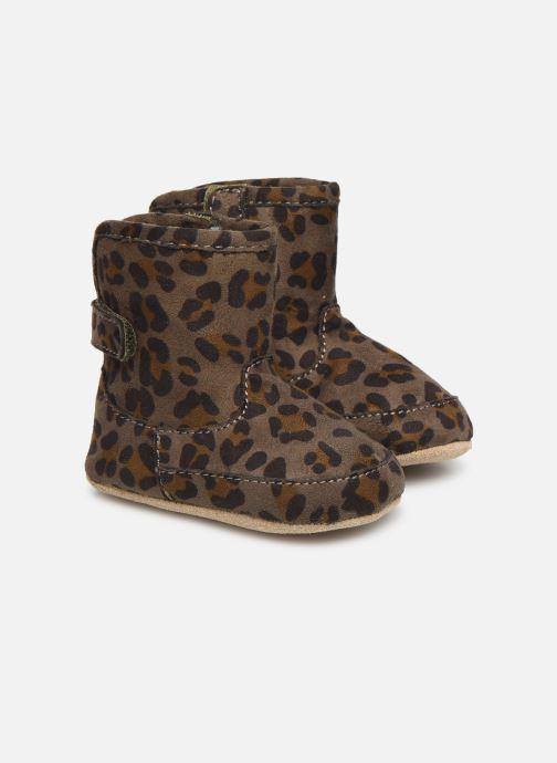 Chaussons Shoesme Jur warm Gris vue détail/paire