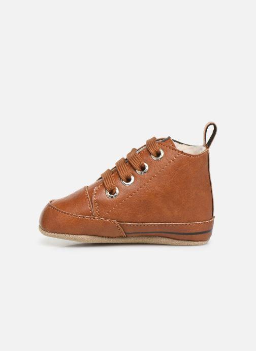Chaussons Shoesme Joos warm Marron vue face