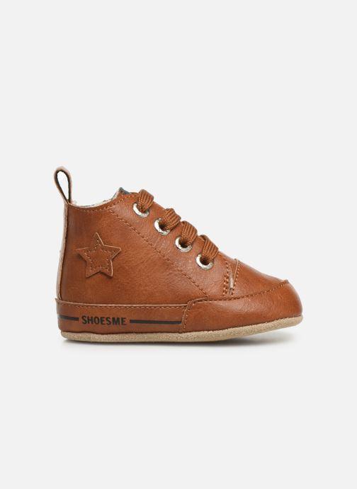 Chaussons Shoesme Joos warm Marron vue derrière
