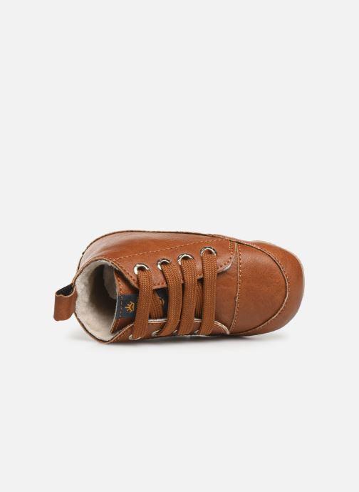 Chaussons Shoesme Joos warm Marron vue gauche