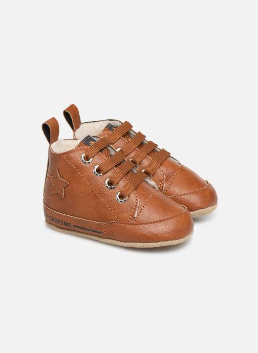 Chaussons Shoesme Joos warm Marron vue détail/paire