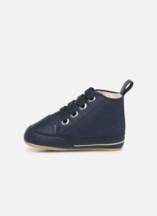 Chaussons Shoesme Joos warm Bleu vue face