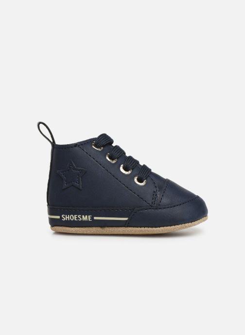 Chaussons Shoesme Joos warm Bleu vue derrière