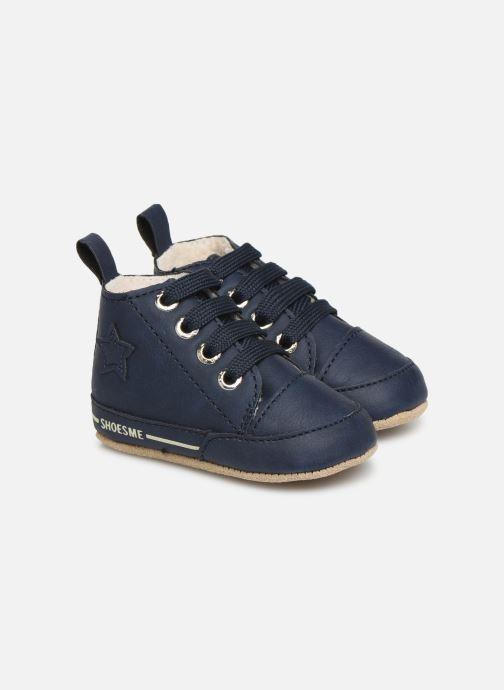 Chaussons Shoesme Joos warm Bleu vue détail/paire