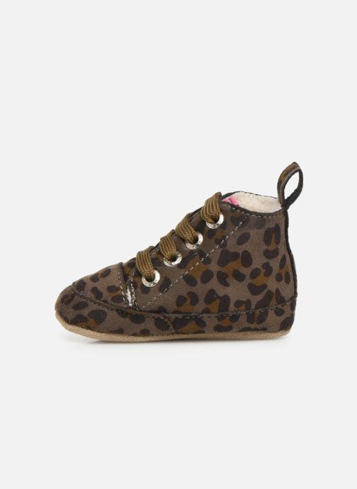 Chaussons Shoesme Joos warm Gris vue face
