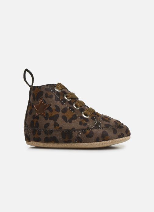 Chaussons Shoesme Joos warm Gris vue derrière