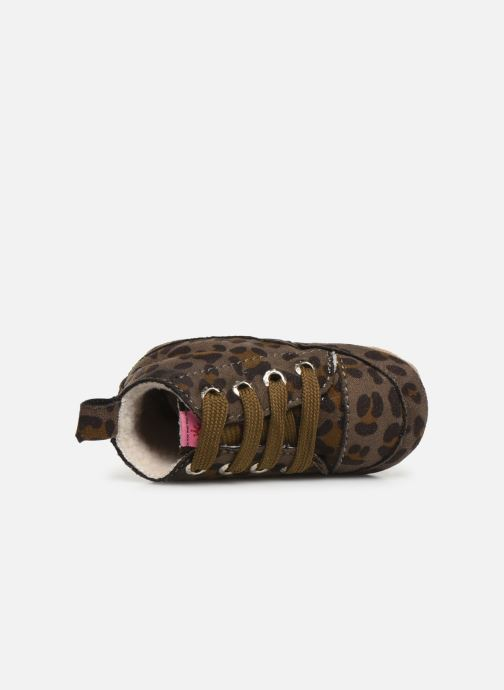 Chaussons Shoesme Joos warm Gris vue gauche
