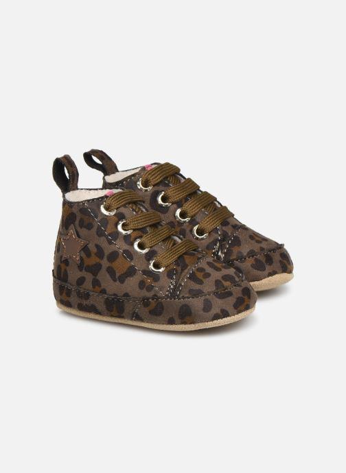 Chaussons Shoesme Joos warm Gris vue détail/paire