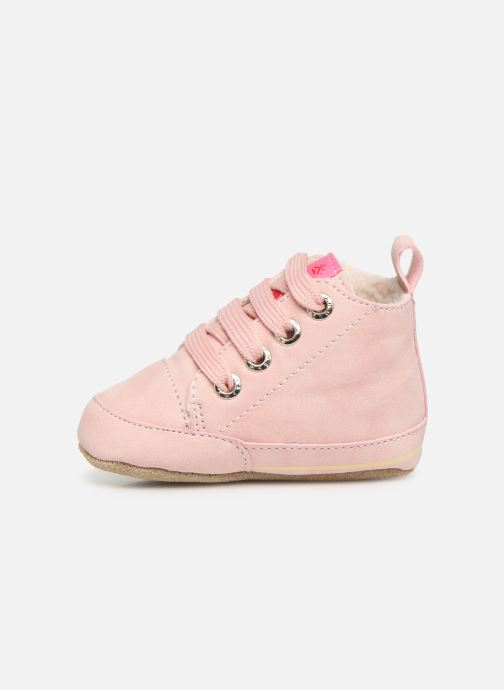 Chaussons Shoesme Joos warm Rose vue face