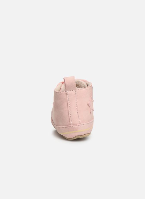 Chaussons Shoesme Joos warm Rose vue droite