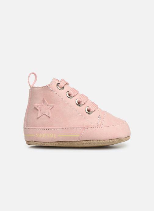 Pantoffels Shoesme Joos warm Roze achterkant