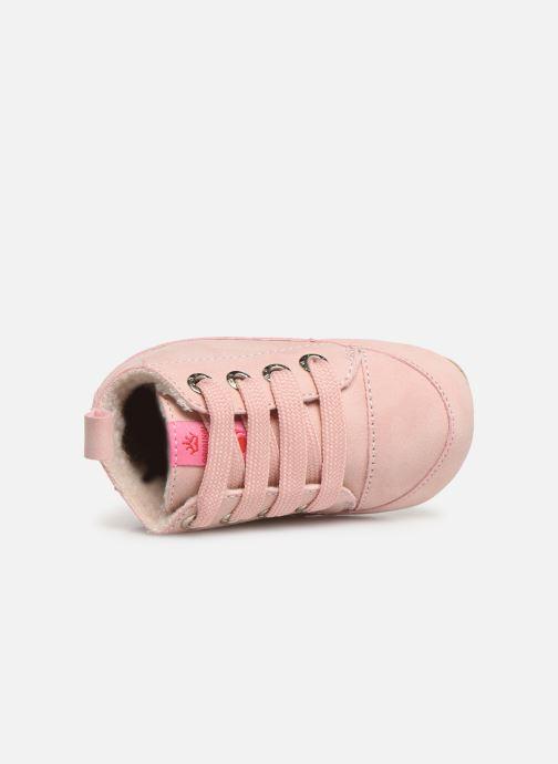 Pantoffels Shoesme Joos warm Roze links