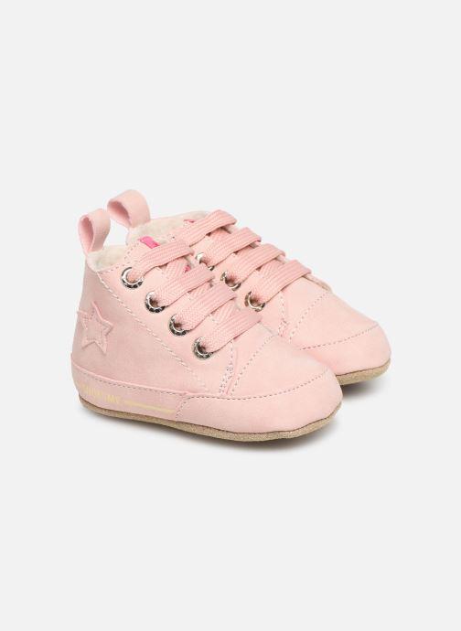 Pantoffels Shoesme Joos warm Roze detail