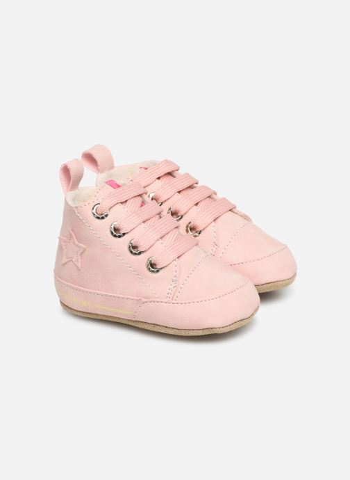 Slippers Shoesme Joos warm Pink detailed view/ Pair view