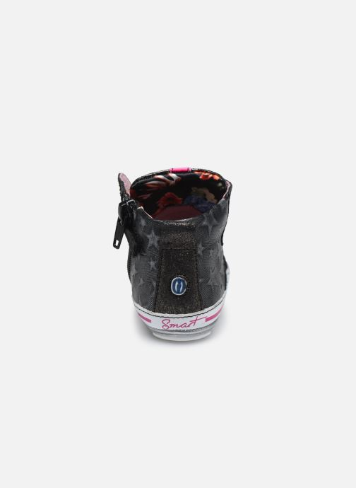 Deportivas Shoesme Molly Negro vista lateral derecha