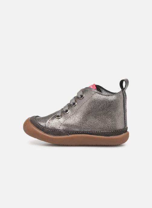 Boots en enkellaarsjes Shoesme Milo Zilver voorkant