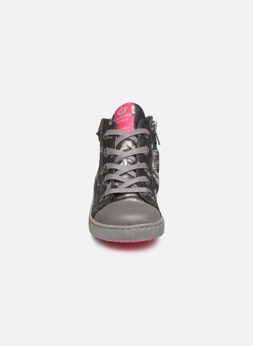 Baskets Shoesme Anette Argent vue portées chaussures