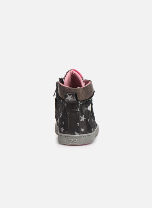 Baskets Shoesme Anette Argent vue droite