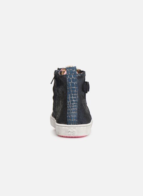 Baskets Shoesme Myriam Bleu vue droite