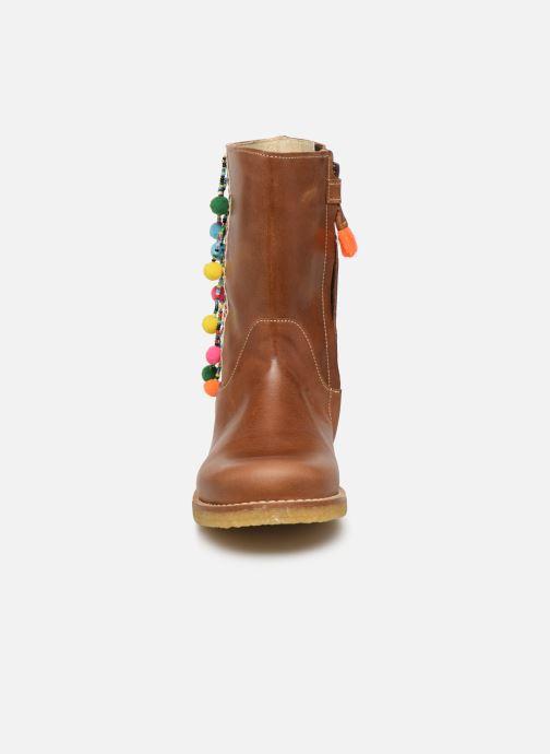 Stiefel Shoesme Delya braun schuhe getragen