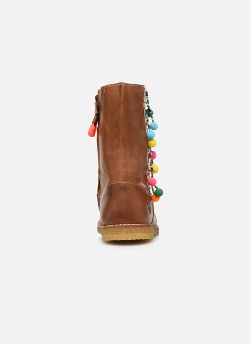 Stiefel Shoesme Delya braun ansicht von rechts