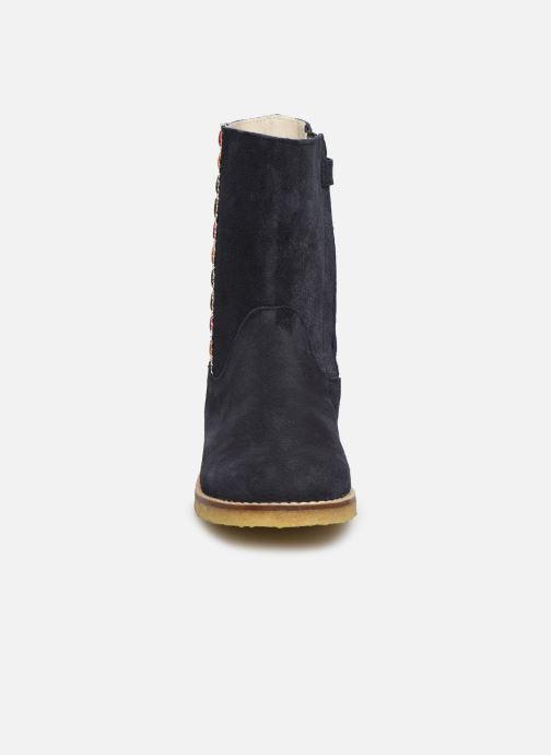 Bottes Shoesme Paulette Bleu vue portées chaussures
