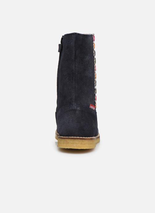 Bottes Shoesme Paulette Bleu vue droite